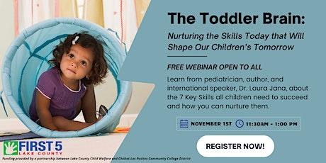 The Toddler Brain:  Nurturing the Skills Today that Will Shape Our Children tickets