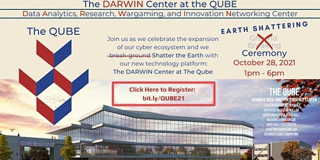 Earth Shattering Ceremony- The DARWIN Center at the QUBE tickets
