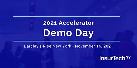 Insurtech NY: Accelerator Demo Day tickets