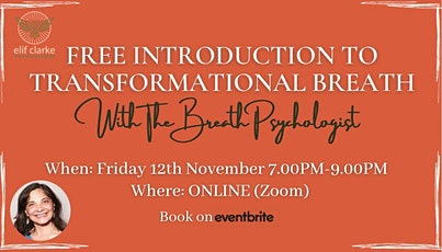 Free Introduction to Transformational Breath® tickets
