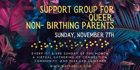 Support Group for Queer, Non-Birthing Parents tickets