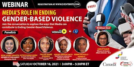 Media's Role in Ending Gender-Based Violence tickets