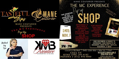 The MC Experience  Pop Up Shop tickets