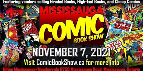 Mississauga Comic Book Show 2021 tickets