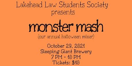 LSS presents: Monster Mash (Annual Halloween Mixer) tickets