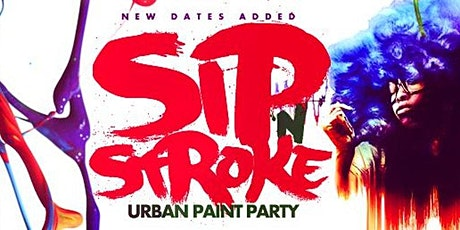 Sip 'N Stroke   New Years Eve Pre-Party  5pm - 8pm  Sip and Paint Party tickets