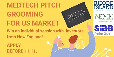 MedTech Pitch Grooming for US Market tickets