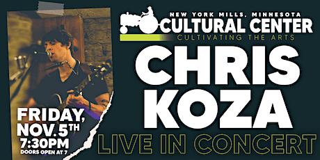 Chris Koza Live at the NYM RCC tickets
