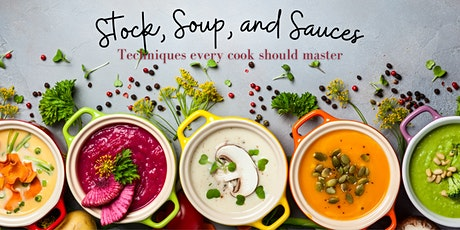 Stock, Soups, and Sauces  @ 1909 Culinary Academy - November 23 tickets