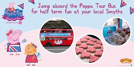 Peppa Pig Afternoon Tea Bus Experience - Milton Keynes tickets
