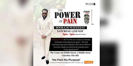 THE POWER OF PAIN - BOOK LAUNCH tickets