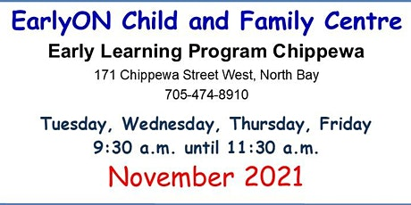 Early Learning Chippewa Tuesdays/Wednesdays/Thursdays/Fridays Birth-6 yrs tickets