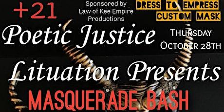 Poetic Justice Lituation Presents Masquerade Bash tickets