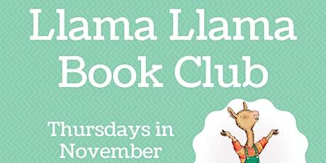 Virtual Fall Book Club  Llama Llama - ages 3-6 yrs. tickets