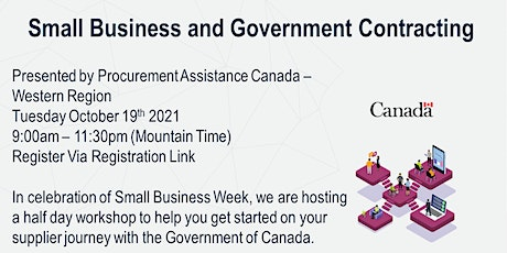 Small Business and Government Contracting tickets
