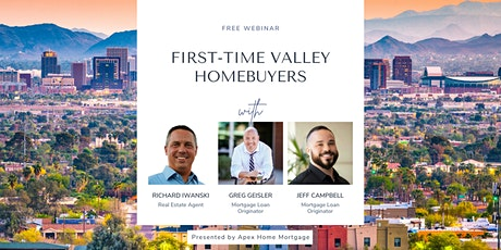 Free Webinar: First-time Valley Homebuyers tickets
