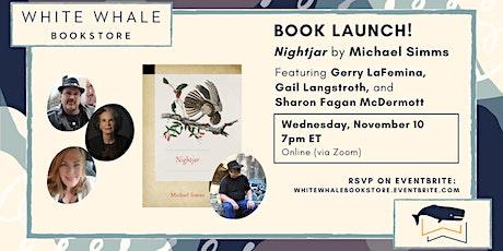 "Book Launch! ""Nightjar,"" Michael Simms, w/ LaFemina, Langstroth, McDermott tickets"