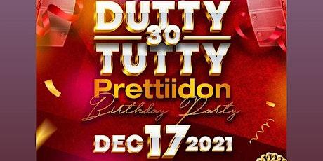Duttytutty prettiidon birthday bash tickets