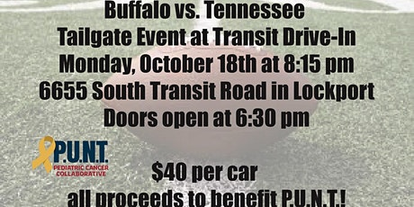 Buffalo Monday Night Game at the Transit Drive In with P.U.N.T. tickets