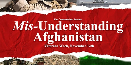 Mis-Understanding Afghanistan: A conversation with Dr Alexei Gavriel tickets