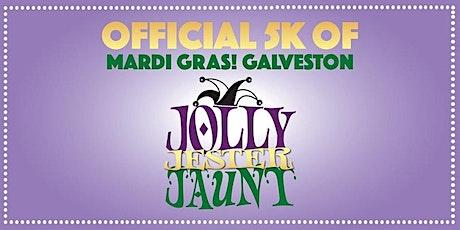 Mardi Gras! Galveston- Jolly Jester Jaunt 5k tickets