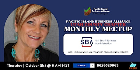 UTCO PIBA Monthly Meetup | October | U.S. Small Business Administration Tickets