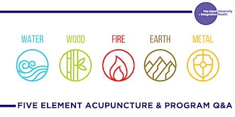 Webinar | Five Element Acupuncture & Program Q&A tickets