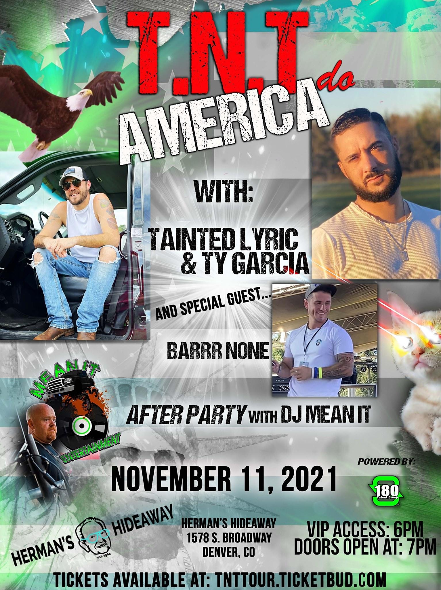 Tainted and Ty Do America Tour- Denver, CO