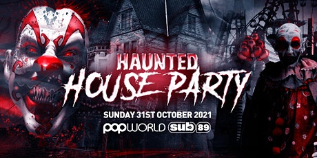 The Haunted House Party   Reading Halloween 2021 tickets