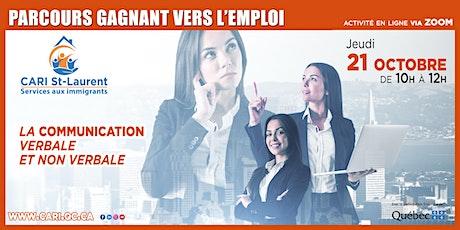 PARCOURS GAGNANT VERS L'EMPLOI billets
