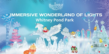 LuminoCity Festival Holiday Lights at Whitney Pond Park tickets