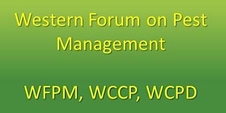 2021 Online Western Forum on Pest Management tickets