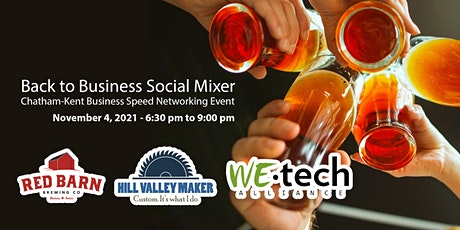 Back to Business Social Mixer: Chatham-Kent Business Speed Networking tickets