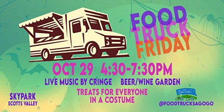 Food Truck Friday - Halloween Style tickets
