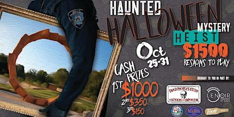 Haunted Halloween Heist Scavenger Hunt tickets