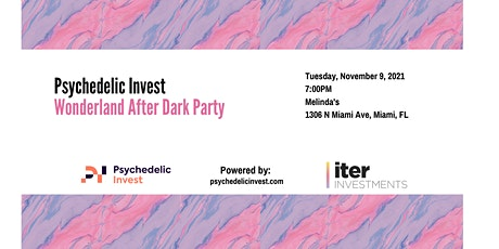 Psychedelic Invest Presents The Wonderland Closing Event tickets