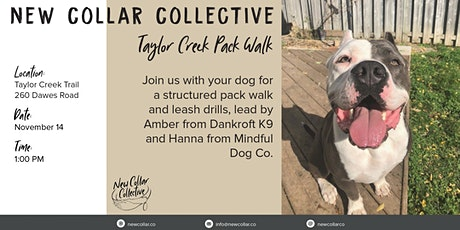 New Collar Collective PACK WALK - Taylor Creek Pack Walk tickets