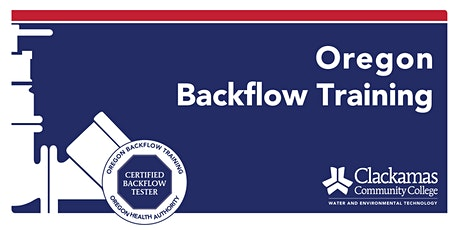 Five-Day Backflow Tester Course - 4.0 CEUs tickets