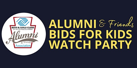 Alumni Bids for Kids Watch Party tickets