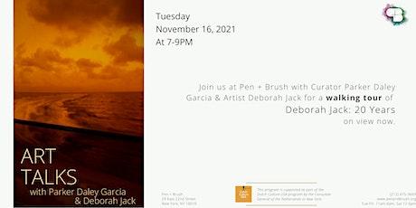 ARTTALKS  with Deborah Jack tickets