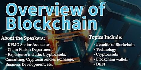 Blockchain Overview tickets