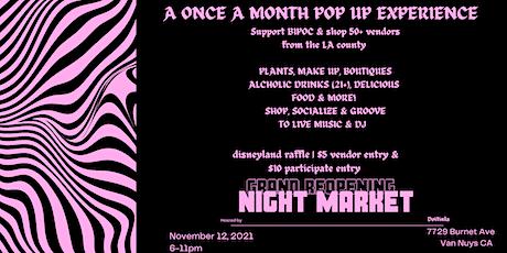 DO IT IN LA SMALL BUSINESS NIGHT MARKET tickets