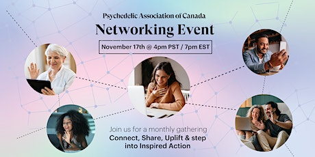 Psychedelic Association Networking Event: Connect, Share, and Uplift tickets