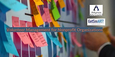 GetSmART: Volunteer Management for Nonprofit Organizations tickets