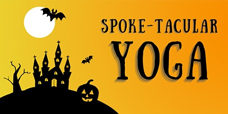 Halloween Yoga at Spokes on Southern tickets