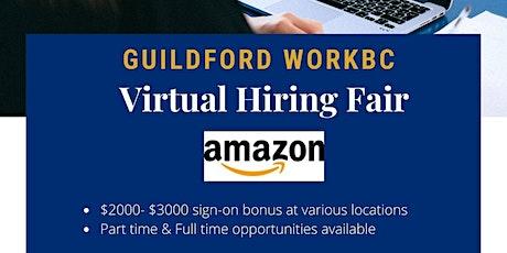 Guildford WorkBC Virtual Hiring Fair – Amazon tickets