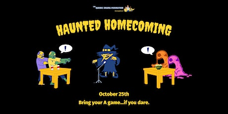 QDF's annual HAUNTED HOMECOMING! tickets