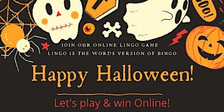 Online Lingo Game -English- Halloween Edition tickets
