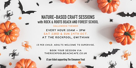 Children's nature-based craft sessions at The Rockpool tickets