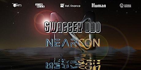 NEARCON Swag Party w/ Ref. Finance, Octopus, NEARWEEK, 4NTS & Human Guild tickets